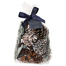 Buy John Lewis Frosted Spruce Christmas Pot Pourri, 500g Online at johnlewis.com