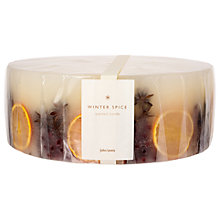 Buy John Lewis Winter Spice Inclusion Five Wick Candle, Large, 1.158kg Online at johnlewis.com