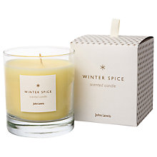 Buy John Lewis Winter Spice Candle, 220g Online at johnlewis.com
