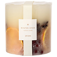 Buy John Lewis Winter Spice Inclusion Candle, 570g Online at johnlewis.com
