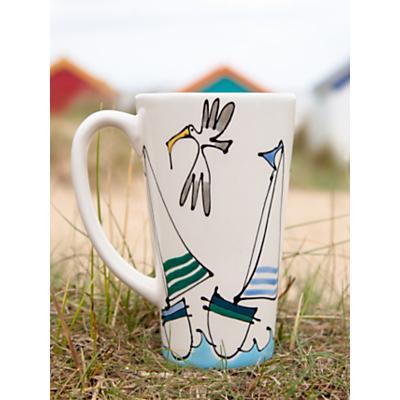 Gallery Thea Personalised Sailing Boat Latte Mug