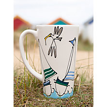 Buy Gallery Thea Personalised Sailing Boat Latte Mug Online at johnlewis.com