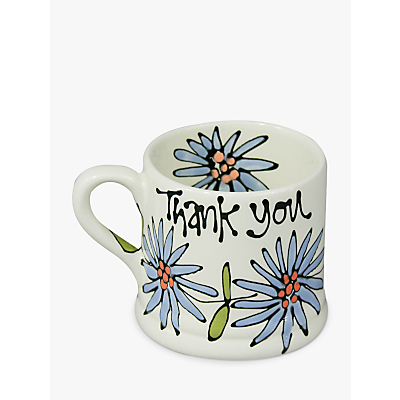 Gallery Thea Personalised Dahlia Mug, Medium