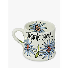 Buy Gallery Thea Personalised Dahlia Mug, Medium Online at johnlewis.com