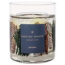 Buy John Lewis Frosted Spruce Gel Candle, 1kg Online at johnlewis.com