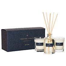 Buy John Lewis Frosted Spruce Scented Gift Set Online at johnlewis.com