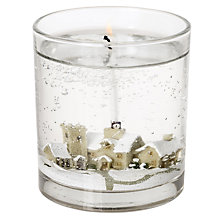 Buy John Lewis Snowscene Candle, Medium Online at johnlewis.com
