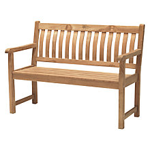 Buy KETTLER RHS Wisley 4ft Garden Bench, FSC-certified (Teak) Online at johnlewis.com