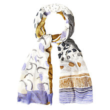 Buy White Stuff Mix it up scarf, Multi Online at johnlewis.com