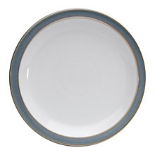 Buy Denby Azure Medium Plate, Blue, Seconds Online at johnlewis.com