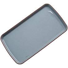 Buy Denby Heritage Rectangle Plate, Blue, Seconds Online at johnlewis.com