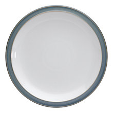 Buy Denby Azure Dinner Plate, Blue, Seconds Online at johnlewis.com