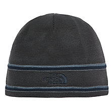 Buy The North Face Logo Beanie, One Size, Grey Online at johnlewis.com
