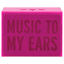Buy kate spade new york Portable Bluetooth Speaker Online at johnlewis.com