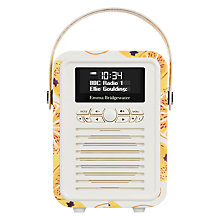 Buy VQ Retro Mini DAB/FM Bluetooth Digital Radio, Emma Bridgewater Patterns Online at johnlewis.com