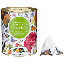 Buy Crabtree & Evelyn Green Mango & Bergamot Tea, 22.5g Online at johnlewis.com