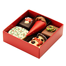 Buy Natalie Christmas Chocolate Selection, Box of 5, 70g Online at johnlewis.com
