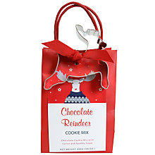 Buy Create A Treat Chocolate Reindeer Cookie Mix, 396g Online at johnlewis.com