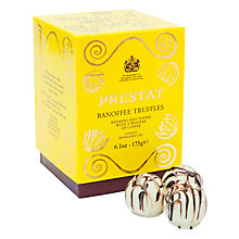 Buy Prestat Banoffee Truffles, 175g Online at johnlewis.com
