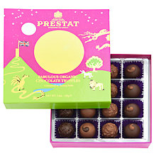 Buy Prestat Organic Chocolate Truffle Selection, Box of 16, 170g Online at johnlewis.com
