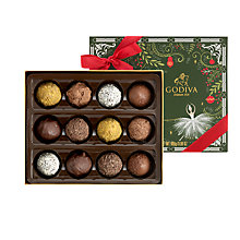 Buy Godiva Truffles, Box of 12, 175g Online at johnlewis.com