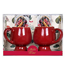 Buy Mulled Wine Spices & Mug, Set of 2 Online at johnlewis.com