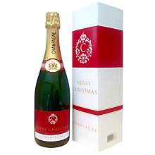 Buy Louis Rozier 'Merry Christmas' Champagne, 75cl Online at johnlewis.com