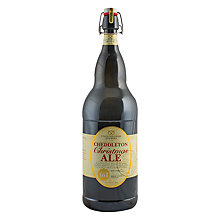 Buy Cottage Delight Cheddleton Christmas Ale, 3 Litre Online at johnlewis.com