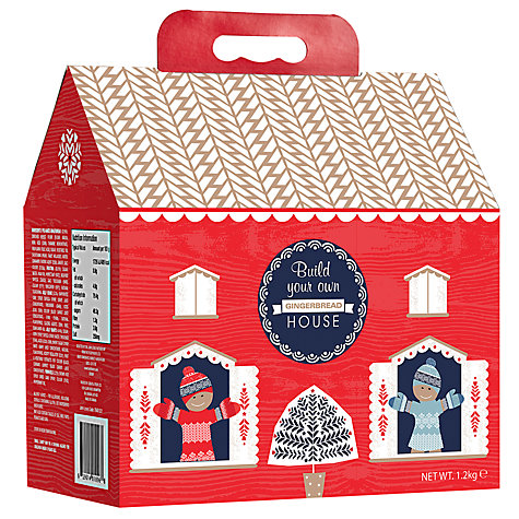 Buy Build Your Own Gingerbread House John Lewis
