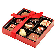 Buy Natalie Christmas Chocolate Selection, Box of 9, 130g Online at johnlewis.com