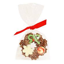 Buy Natalie Chocolate Mini Wreath, 55g Online at johnlewis.com