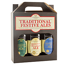 Buy Cottage Delight Traditional Festive Ales, Box of 3 Online at johnlewis.com