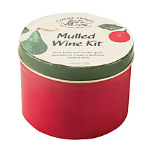 Buy Cottage Delight Mulled Wine Kit, 20g Online at johnlewis.com