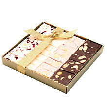 Buy Natalie Nougat Cube Box, 285g Online at johnlewis.com