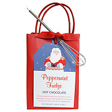 Buy Create A Treat Peppermint Fudge Hot Chocolate Mix, 226g Online at johnlewis.com