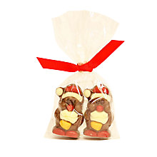 Buy Natalie Praline Santa Duo, 45g Online at johnlewis.com