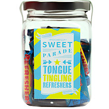 Buy Piccadilly Sweet Parade 'Refresher' Sweet Jar, 155g Online at johnlewis.com