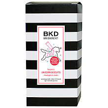Buy BKD Mini Baking Kit Raspberry Unicorn Biscuits, 315g Online at johnlewis.com