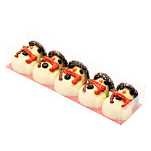 Buy Natalie Praline Snowmen, Pack of 5, 75g Online at johnlewis.com