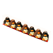 Buy Natalie Milk & Dark Chocolate Penguins, Pack of 7, 90g Online at johnlewis.com