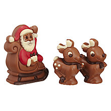 Buy Natalie Santa & Two Reindeers, 145g Online at johnlewis.com