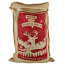 Buy The Handmade Christmas Co. 'The Sidney' Sack Online at johnlewis.com