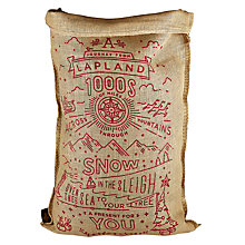 Buy The Handmade Christmas Co. 'The Howard' Sack Online at johnlewis.com
