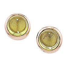 Buy London Road 9ct Rose Gold Bubble Stud Earrings Online at johnlewis.com