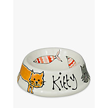 Buy Gallery Thea Personalised Cat Bowl Online at johnlewis.com