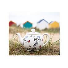 Buy Gallery Thea Seagull and Hearts 2 Cup Teapot Online at johnlewis.com