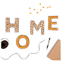 Buy The Letteroom 'Home' Ceramic Dishes Online at johnlewis.com