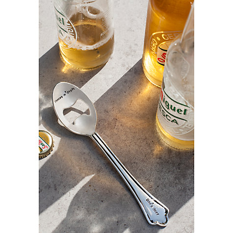 buy cutlery commission silver plated personalised bottle opener john lewis. Black Bedroom Furniture Sets. Home Design Ideas