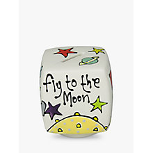 Buy Gallery Thea Personalised Spaceman Cube Money Box Online at johnlewis.com