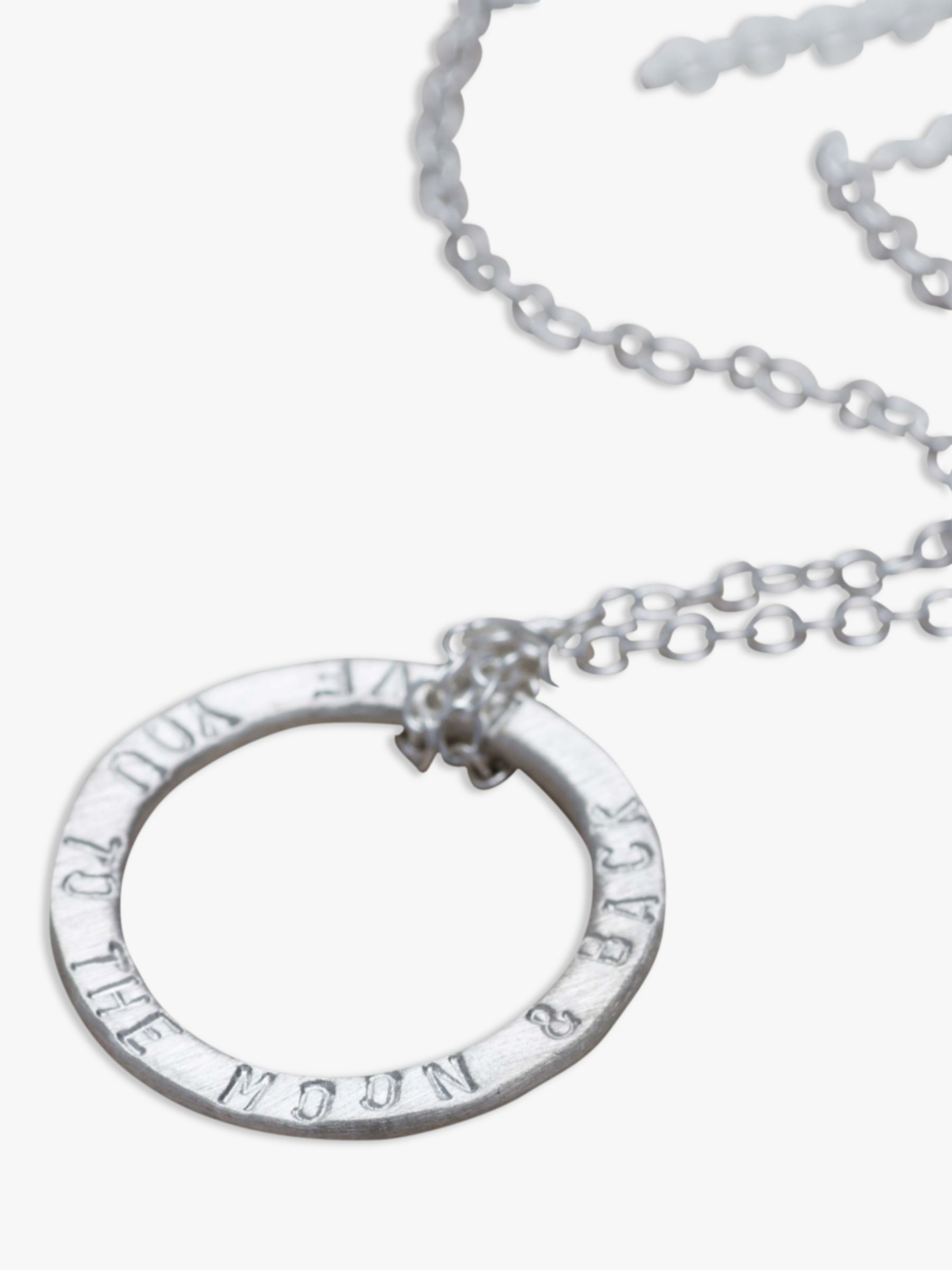Chambers & Beau Chambers & Beau Personalised Halo Knotted Necklace
